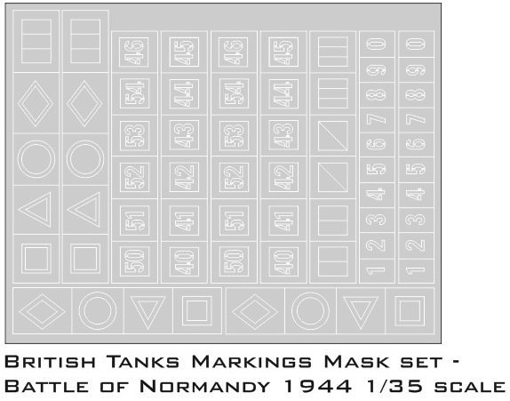 British tank markings