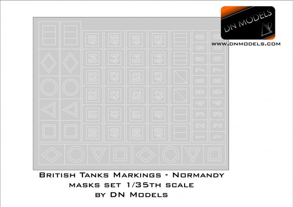 Cover British Tank Markings (Scalemates)