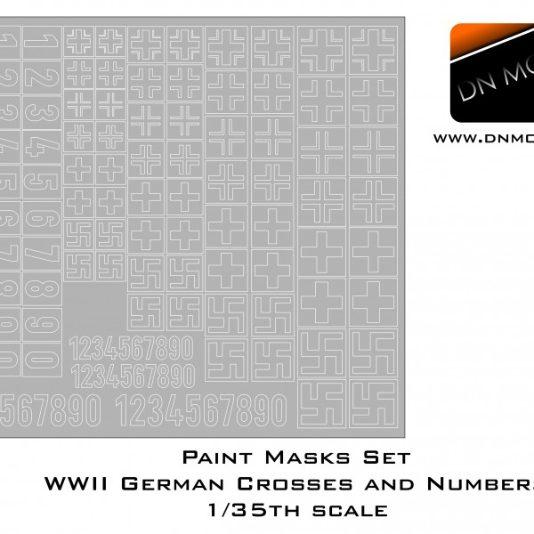 Cover German Crosses 1-35