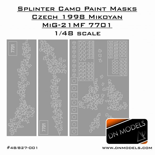Cover Mig-21MF Splinter Camo (site)