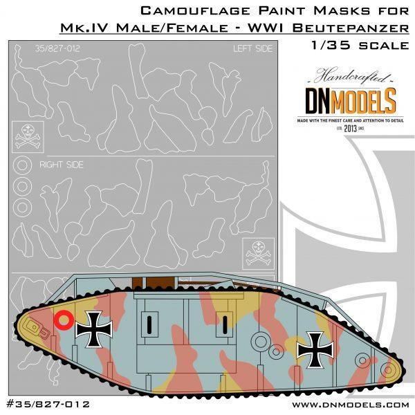 Cover Mk.IV Camo and Crosses 35th scale (Site)