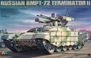 bmpt-72 Terminator II 4611 Tiger Model Unboxing Review DN Models mask set Camo 691 × 441