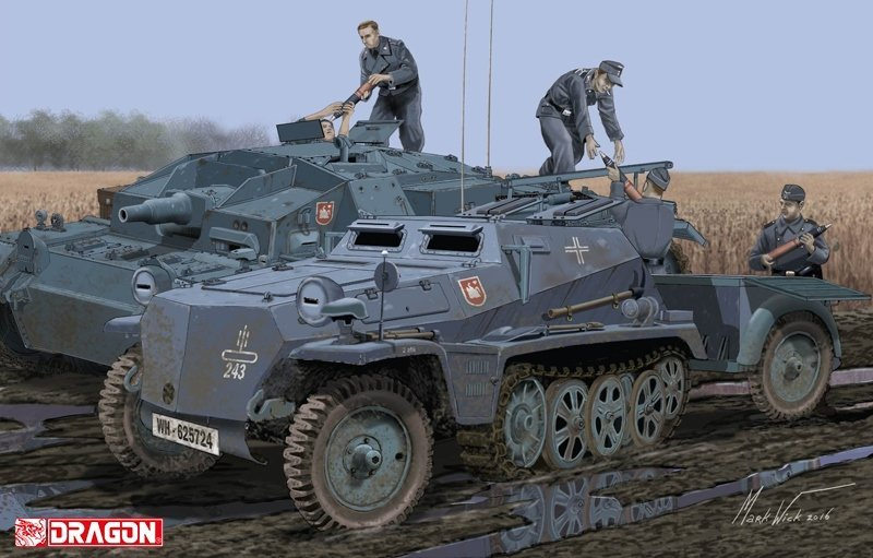 Dragon Sd.Kfz.252 Review DN Models sd.ah.32