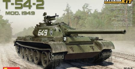 MiniArt T-54-2 DN Models Review 37004 tank