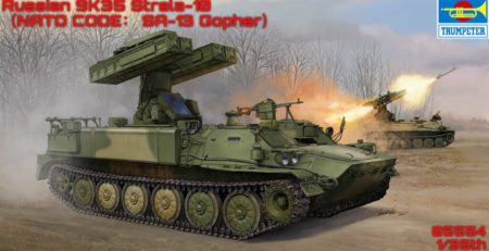 Trumpeter SA-13 Gopher / Strela-10 9K35