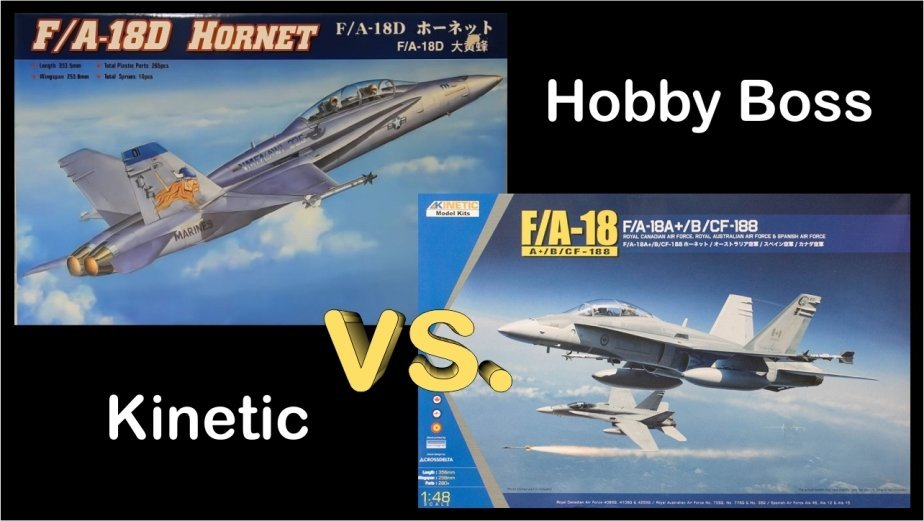 Hornet Kinetic Hobby Boss comparison review dn models hb80322 k48030 48th