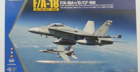 Kinetic Hornet f-18 cf 188 dn models unboxing review 1/48