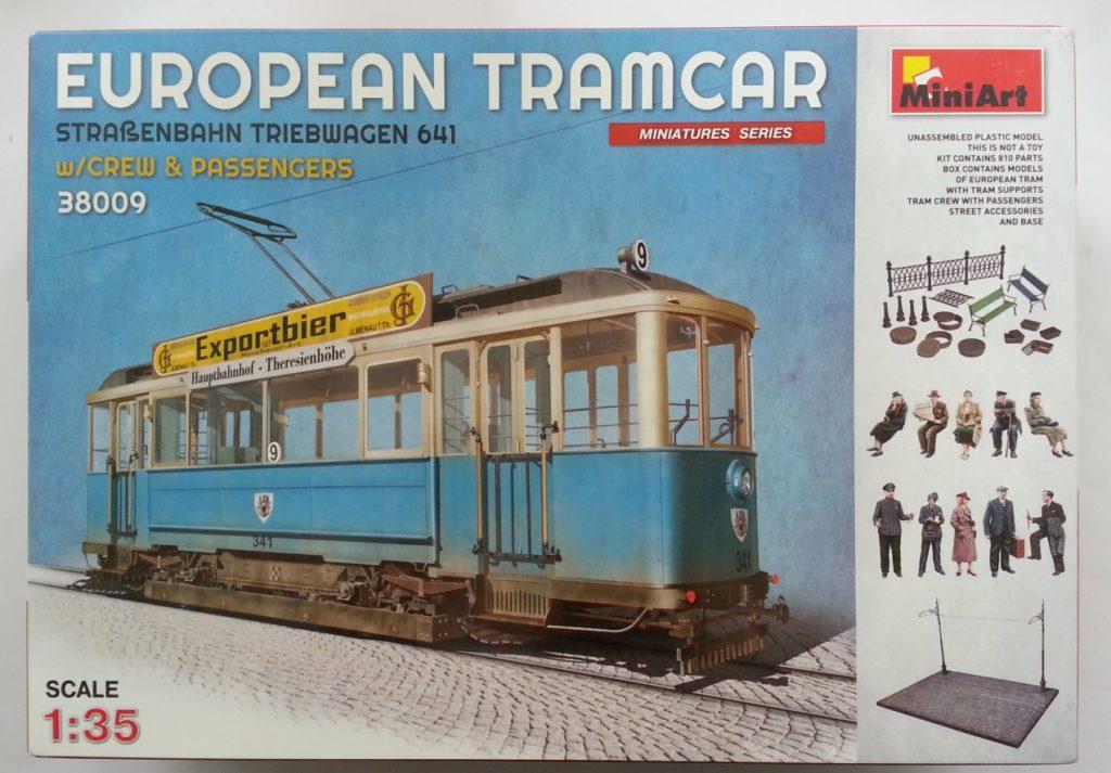 MiniArt European Tramcar Straßenbahn Triebwagen 641