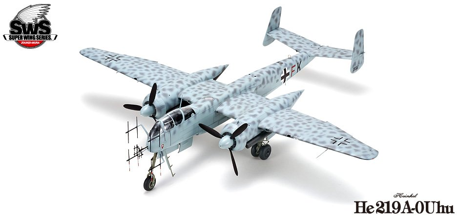 he-219 uhu zoukei-mura unboxing review sws dn models