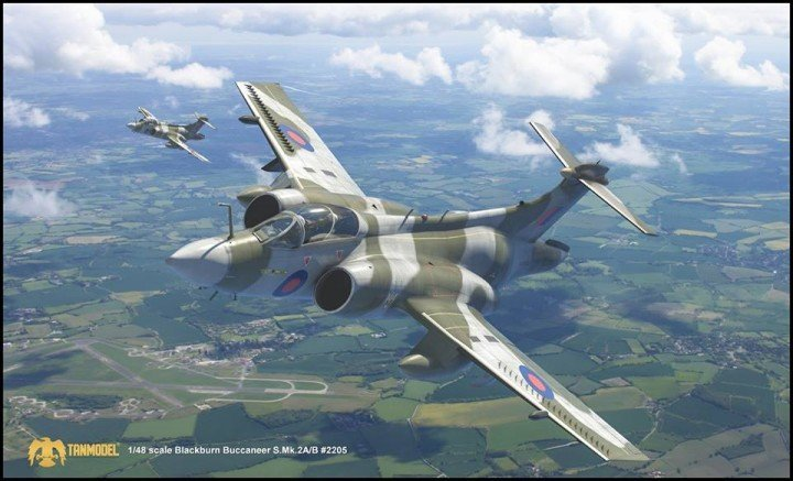 hawker siddeley blackburn buccaneer dn models tanmodel 1:48