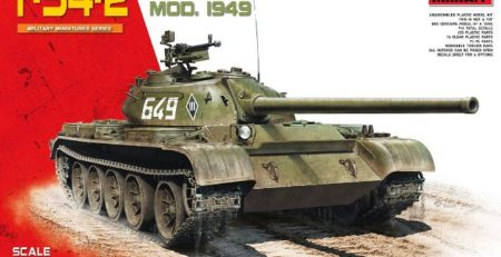 miniart 37012 t-54-2 unboxing and review dn models