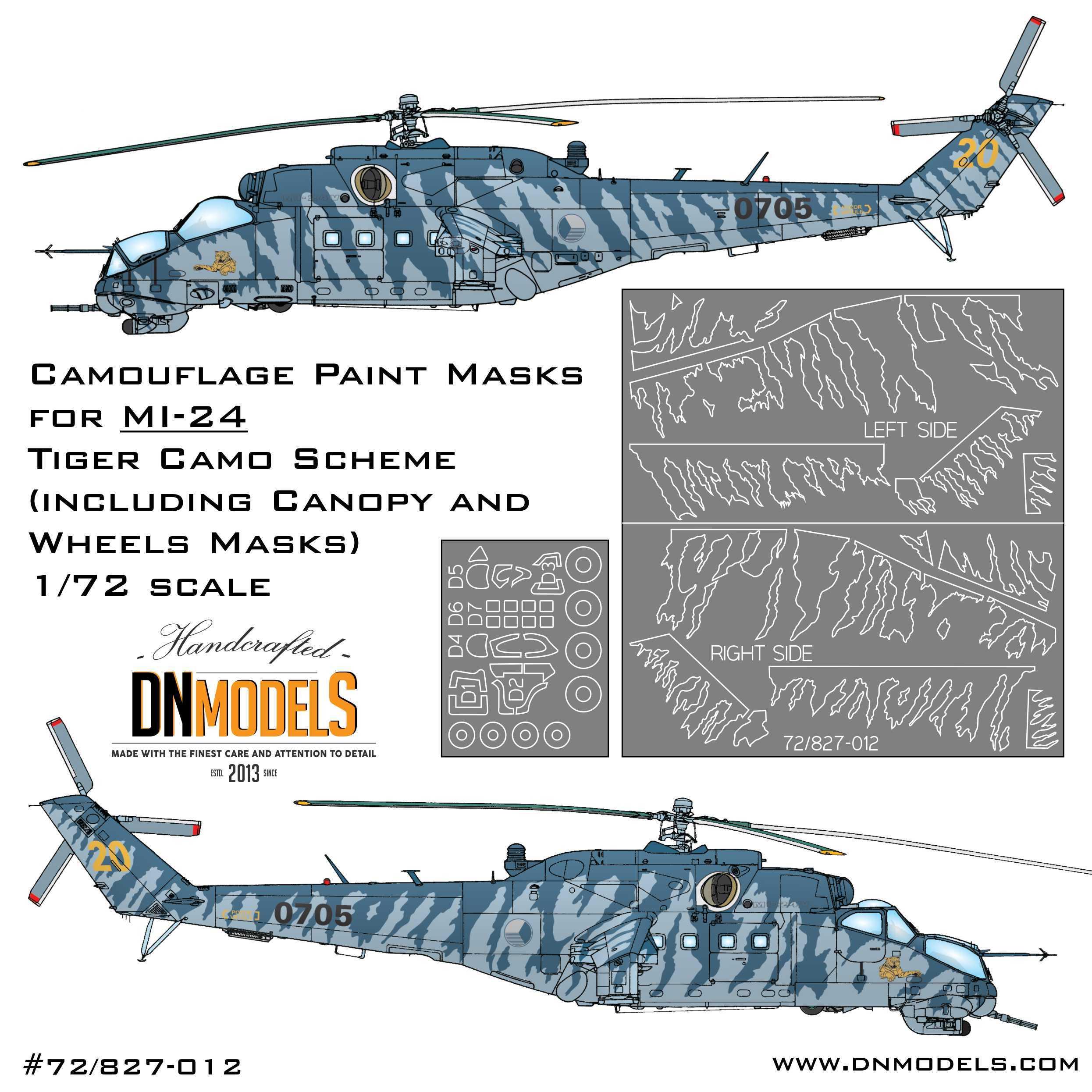 MI-24 Tiger Camo 1:72 mil mi 24 dn models tigermeet
