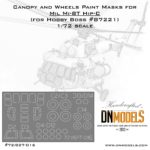 Cover Mi-8 Canopy and Wheels 72th scale (site)