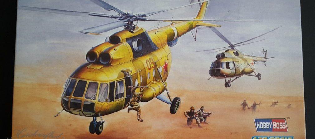 Mi-8 Mi-17 review unboxing DN Models hobbyboss boxart