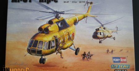 Mi-8 Mi-17 review unboxing DN Models hobbyboss boxart