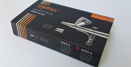 Sparmax MAX 4 - the daily driver for the working modeler