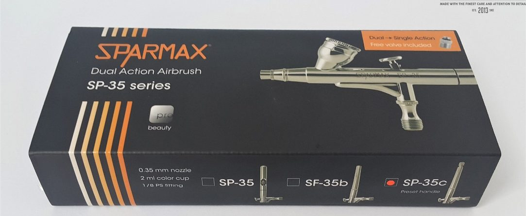 Sparmax ps-35C unboxing review dn models dual action airbrush