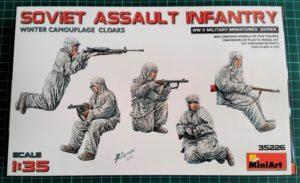 miniart 35226 soviet assault imfantry dn models review unboxing