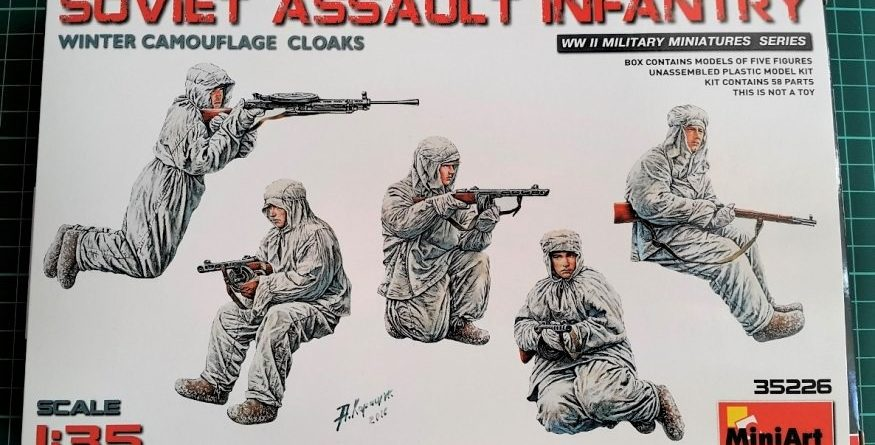 miniart 35226 soviet assault imfantry dn models review unboxing