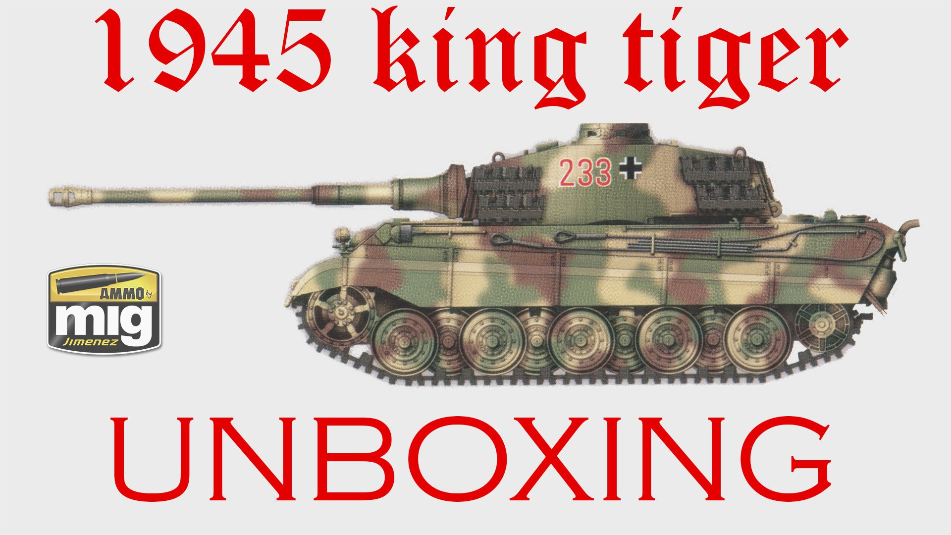 King Tiger 2 In 1 Limited Edition By Ammo Dn Models