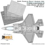 Cover F-35A RAM Panels (Meng ls-007) 48th (Site)