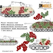 Cover Disk camo type 5 (different 073) 35th scale (1)