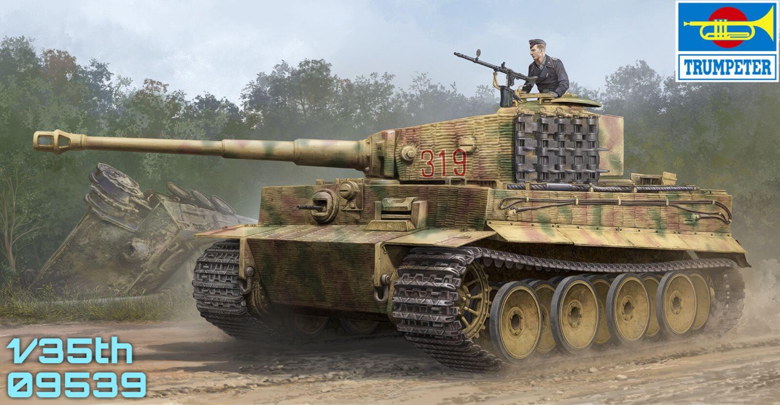 Trumpeter Tiger  Build