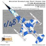 Cover F-104 Aerospace Aggressor Camo 48th (Site)