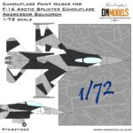 Cover F-16 Arctic Camo 72nd (Site)