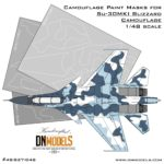 Cover Su-30MKI (#04) Blizzard Camo 48th (Site)
