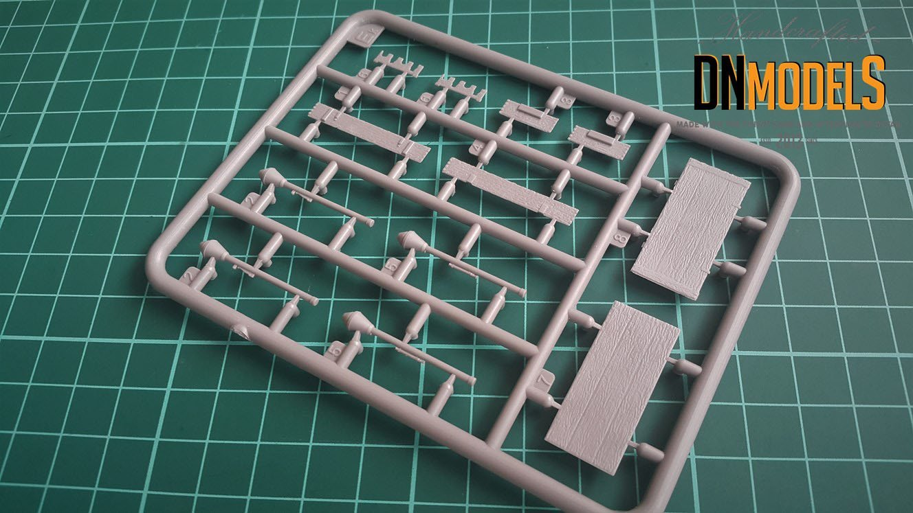 miniart 35253 panzerfaust 30/60 set sprues 5