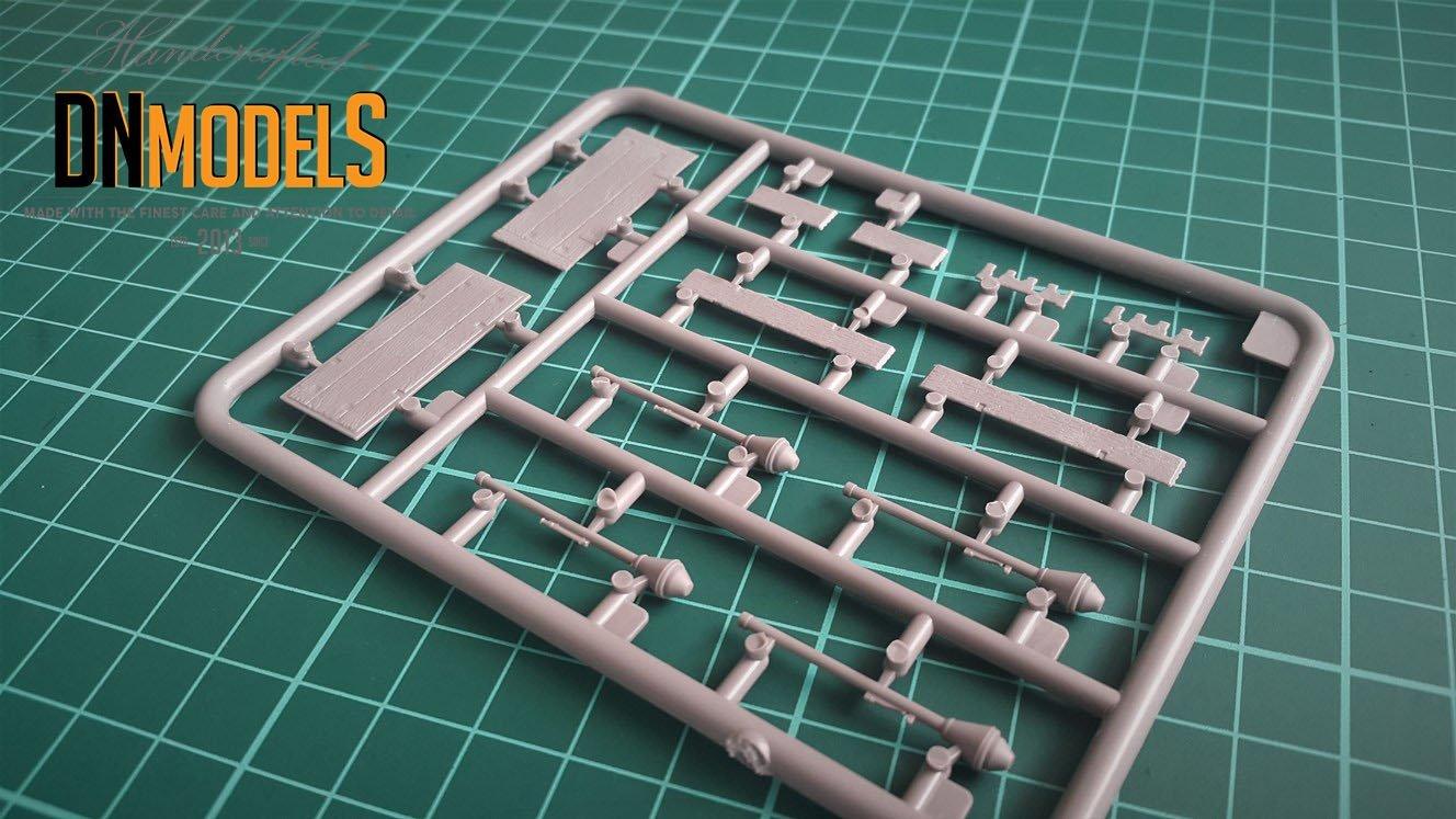 miniart 35253 panzerfaust 30/60 set sprues 4
