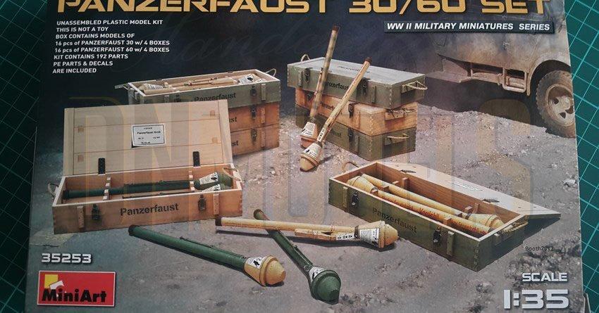 miniart 35253 panzerfaust 30/60 set boxart