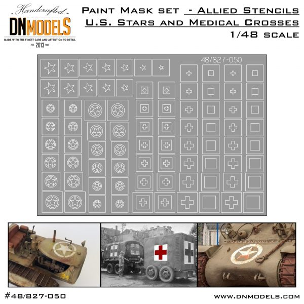 Cover Allied Stencils 48th scale (Site)
