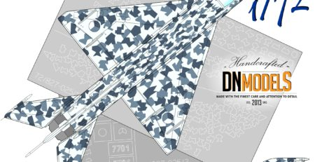 Czech Splinter camouflage paint masks for Czech Air Force MiG-21MF #7701 1:72 1/72