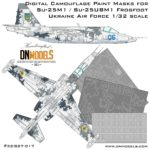 Cover Su-25M1 Frogfoot Digital Camo 32nd scale (Site)