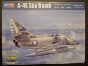 Unboxing and Review: 1/48 A-4E Skyhawk Hobby Boss #81764 box