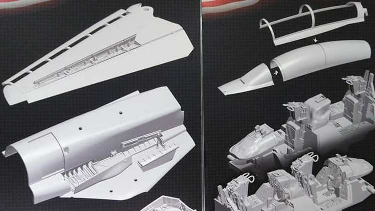 f-14 tomcat great wall hobby new tooling dn models 1/48