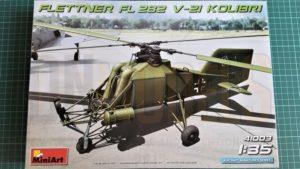 Flettner Fi 282 V21 kolibri dn models masks for scale models review unboxing miniart v21