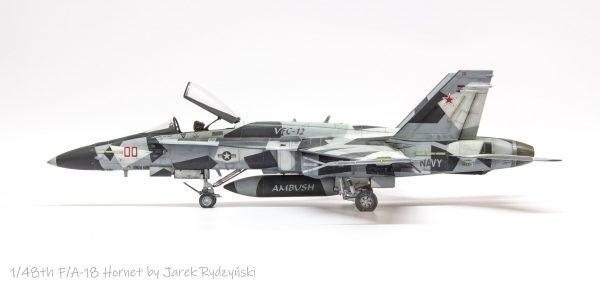 Arctic Splinter Camo Paint Masks for FA-18 Hornet Aggressor 48th scale (3)