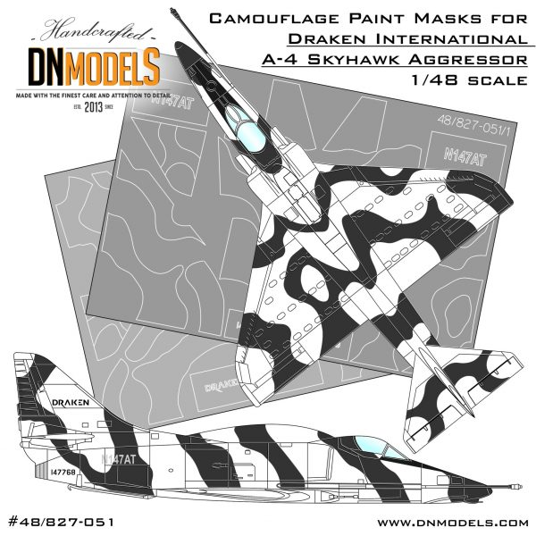 Cover A-4 Draken Camo 48th scale (Site )