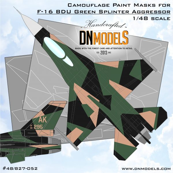 Cover F-16C Green BDU Splinter 48th (Site)