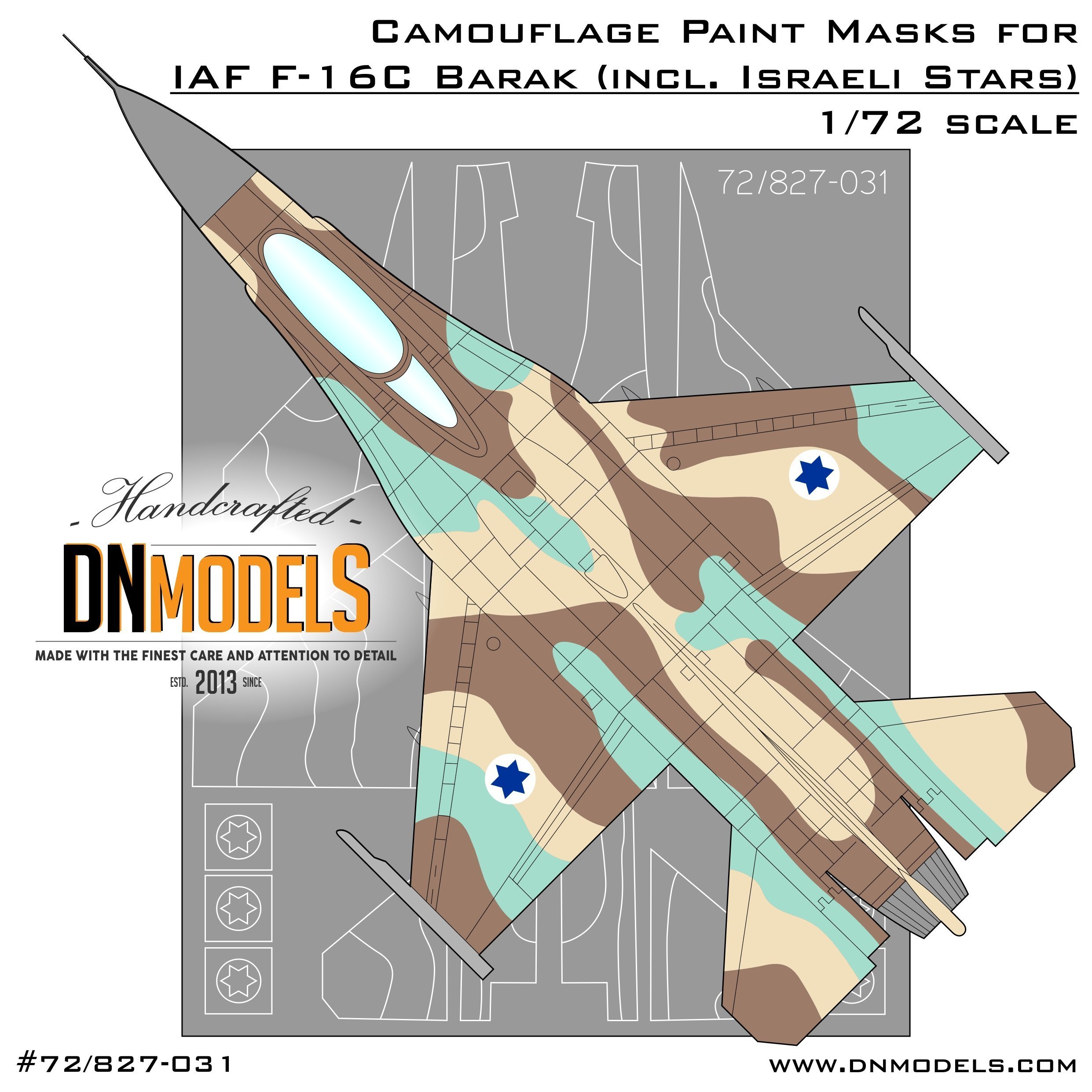 F 16c Barak Israeli Camoflage Scheme Mask Set By Dn Models More than 4,500 units were manufactured and are operated today by 26 countries where the aircraft performs numerous missions that include air superiority, close air support, precision bombing, air defense. dn models