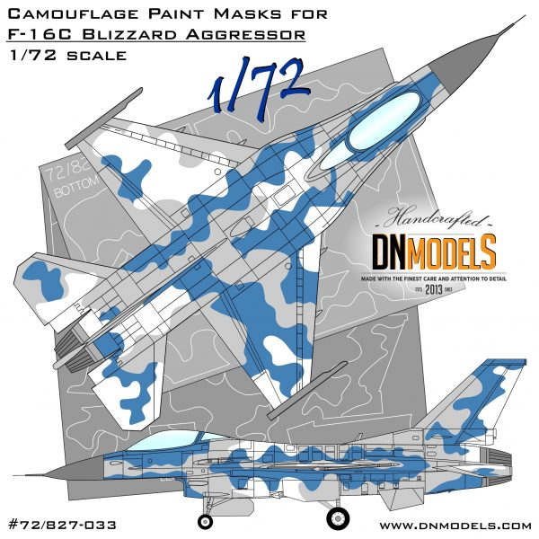Cover F-16 Blizzard Camo 48th (Site)