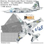 Cover Su-25M1 Frogfoot Digital Camo 48th scale (Site)