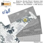 Cover Su-25M1 Frogfoot Digital Camo 48th scale (Site 2)