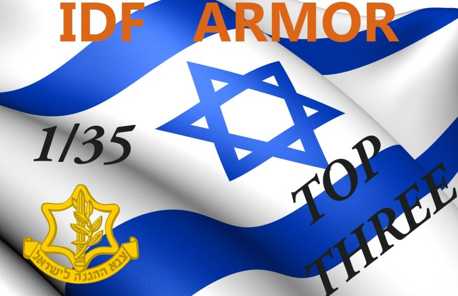 IDF Armor top three kits today dn models masks for scale models