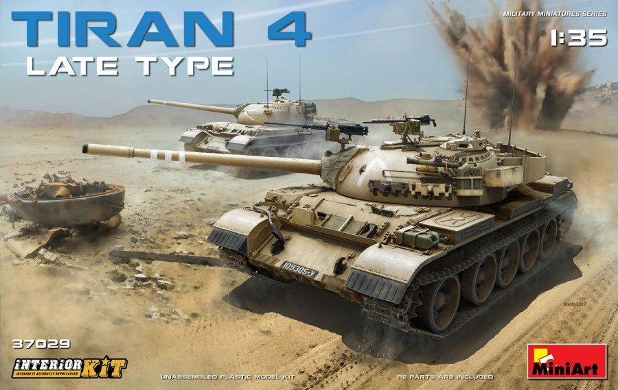 idf armor tiran 4 miniart tiran 4 sh 37029