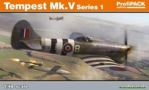 82121 eduard tempest mk.v 48th scale series 1 dn models