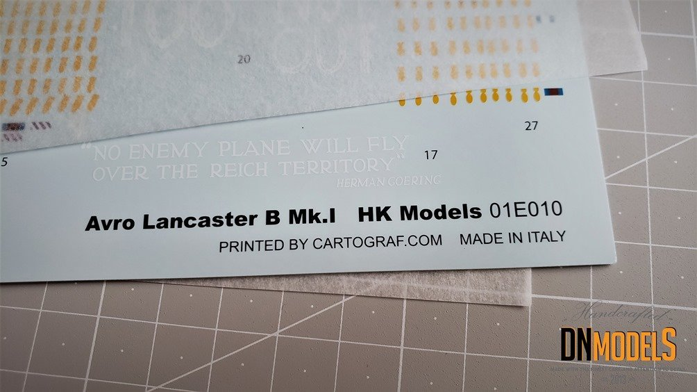 Avro Lancaster B Mk.I 132 kit Review - HK Models #01E010